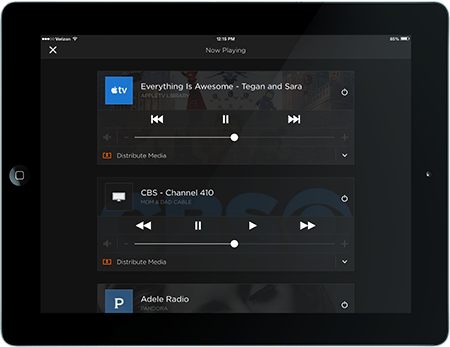 ipad music interface